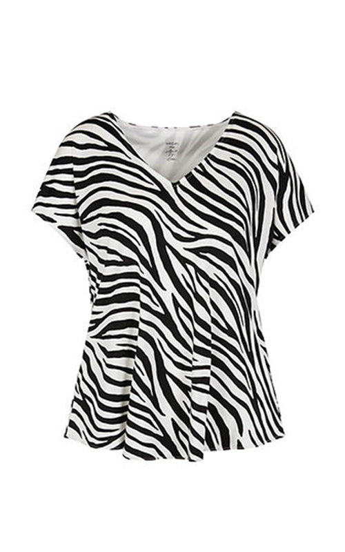 V Neck Animal Tee Marc Cain