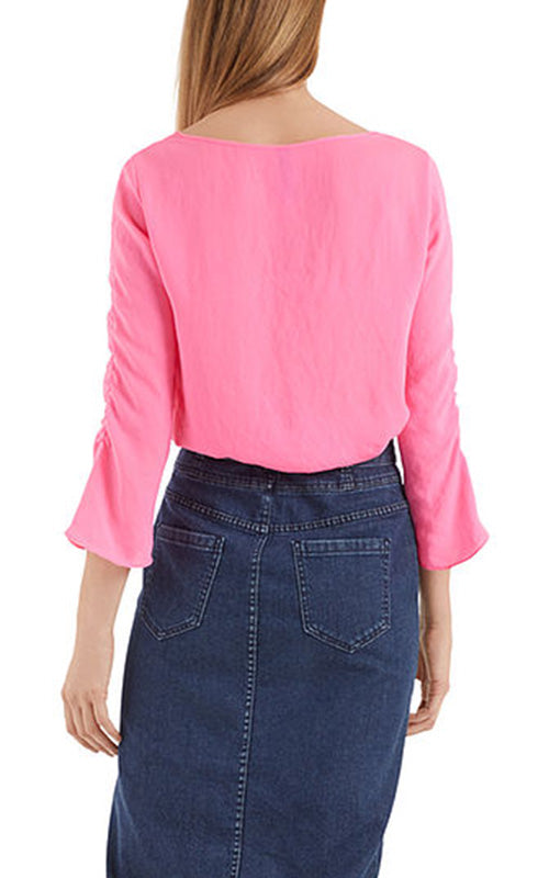 Ruched Popover Blouse Marc Cain