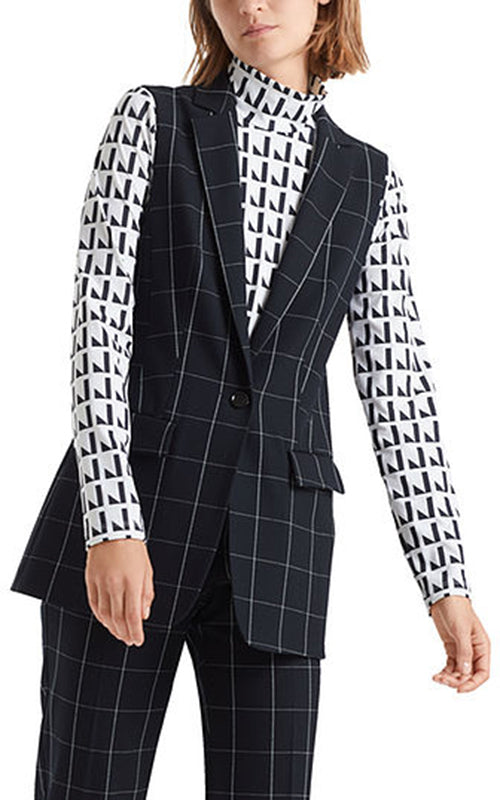 Window Pane Vest Marc Cain