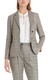 Plaid 2-Button Blazer Marc Cain