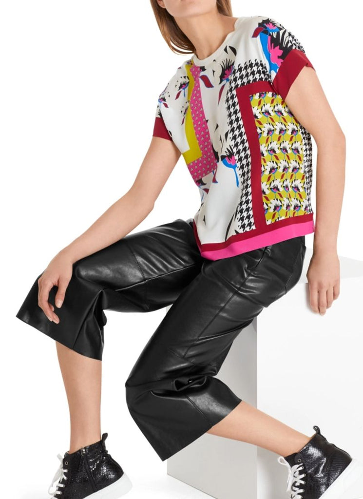 Marc Cain Mixed Print Pop-Over