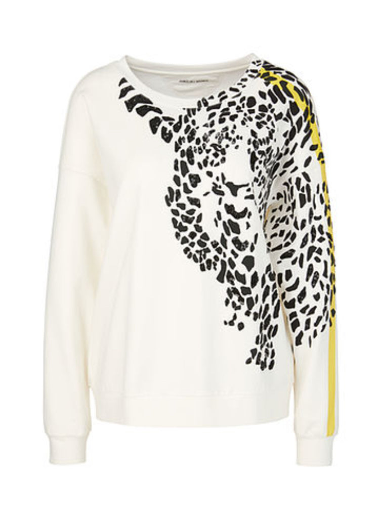 Marc Cain Leopard Shoulder Sweater
