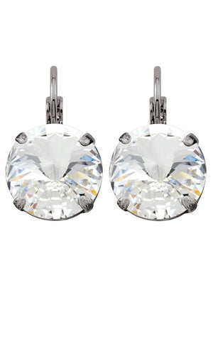Crystal Rivoli Drop Earrings