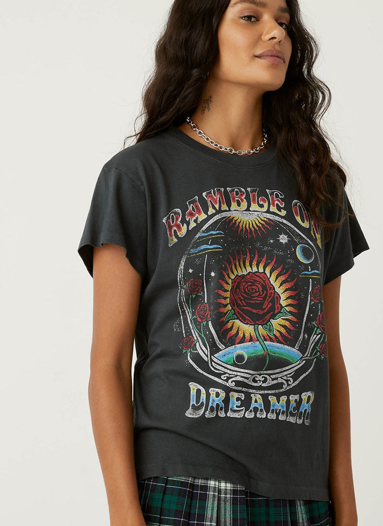 Daydreamer Ramble On Dreamer Tour Graphic T-Shirt