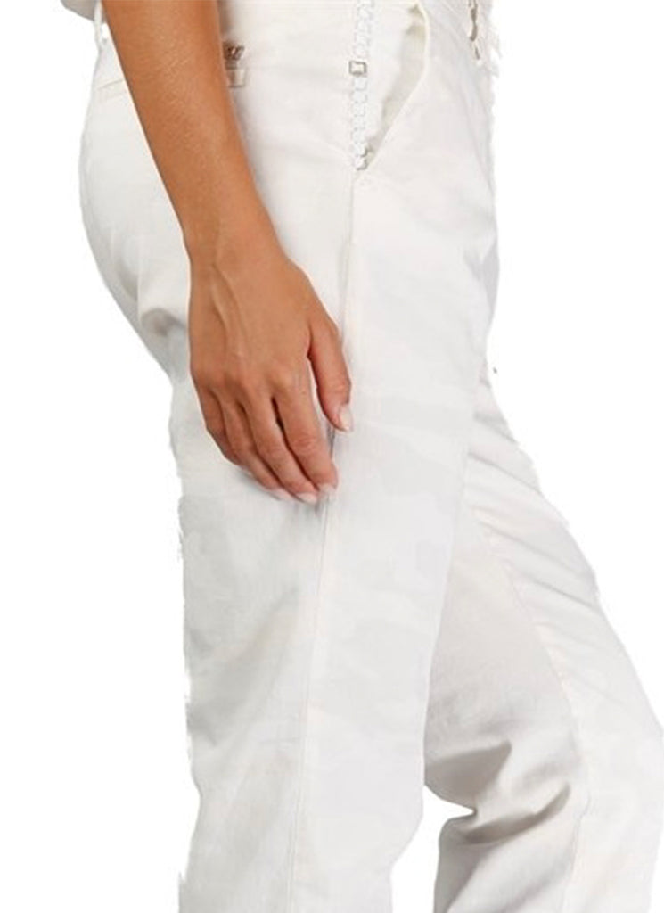 Mason's White chino Camp Pant
