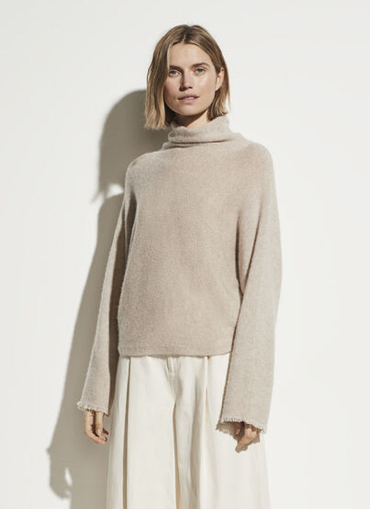 Dolman Sleeve Turtleneck Vince