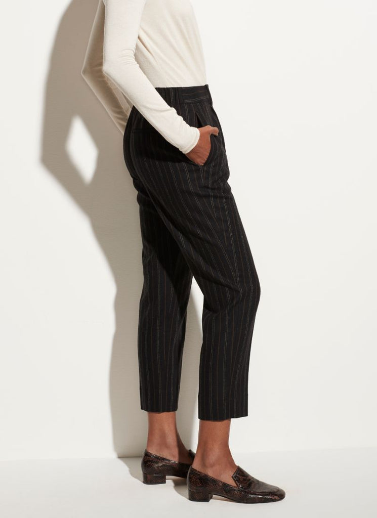 Vince Flannel Stripe Trouser