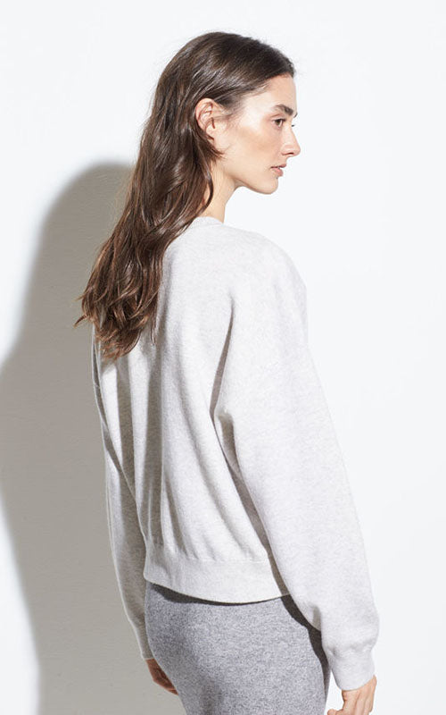 Double Layer Cashmere Crew Vince