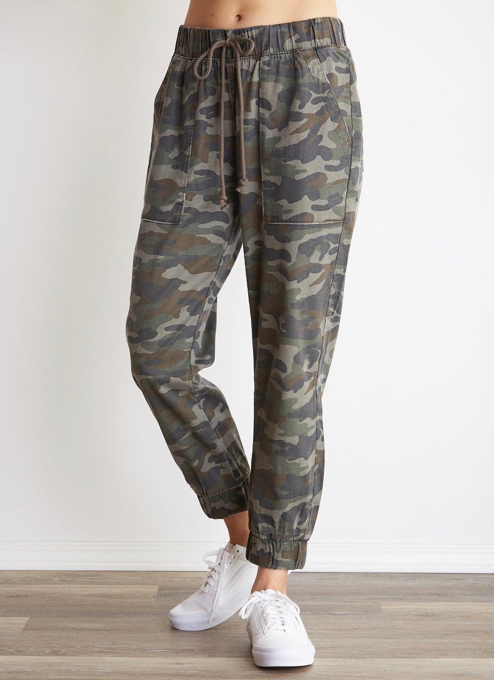 Bella Dahl Camo Pocket Jogger