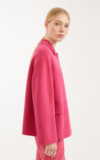 Ande Short Wool Coat Max Mara Weekend