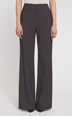 Alice and Olivia Dylan Clean Wide Leg Pant