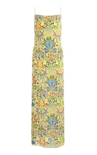 Alice and Olivia Harmony Maxi Floral Slip Dress