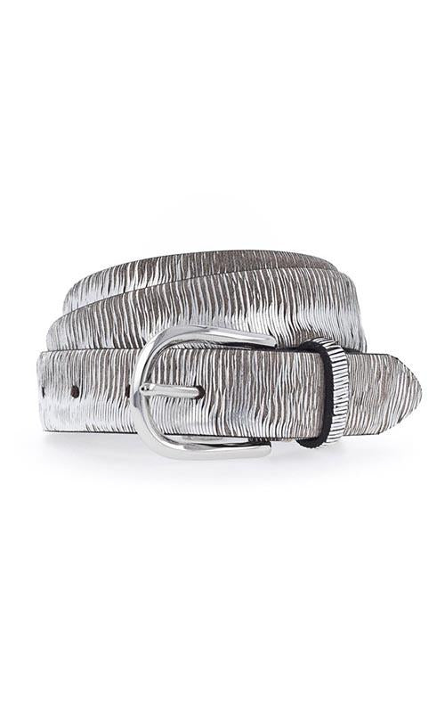 Thin Metallic Belt - Silver B. Belt