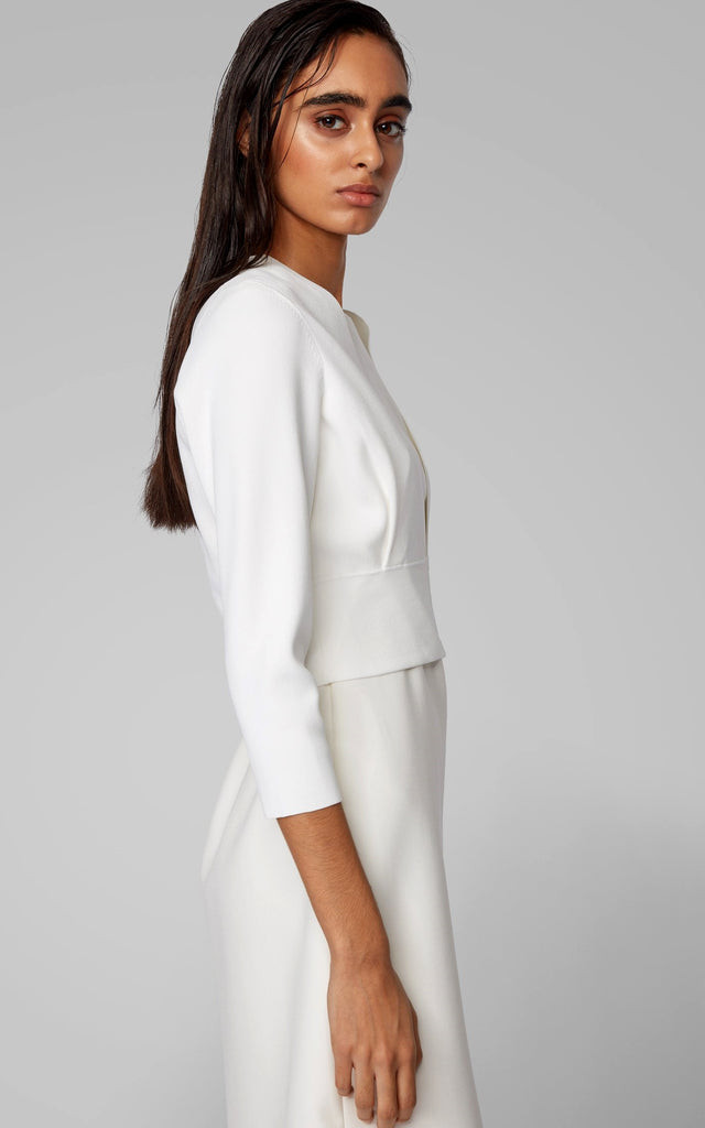 BOSS Slim-fit Crop Jacket | ANDREWS