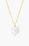 Chan Luu Necklace With Pearl Drop