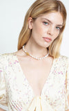 Chan Luu Pearl Necklace With Snake Closure
