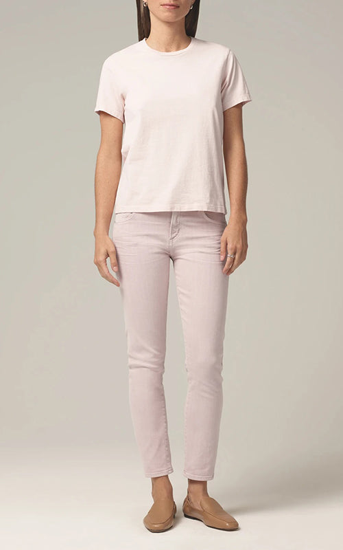 Citizens of Humanity Frankie Classic Crew Tee - Blush