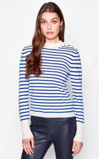 Clodee Stripe Crew Sweater Equipment