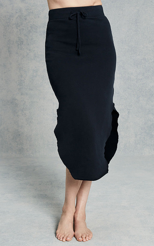 Long Fleece Skirt - Navy Tee Lab