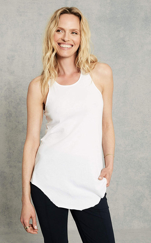 Base Layering Tank - White Tee Lab