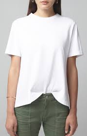 Lenu Back Pleat Tee Citizens of Humanity