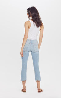 Insider Crop Step Fray Jeans Mother Denim