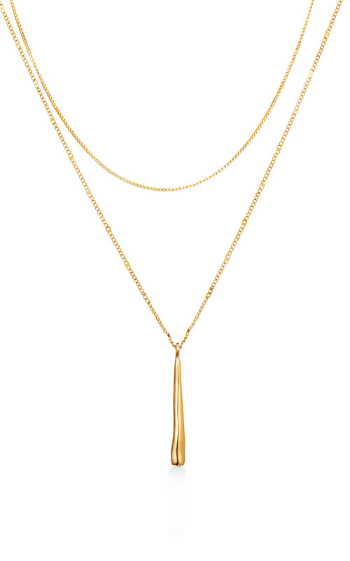 Sila Pendant Necklace - Gold