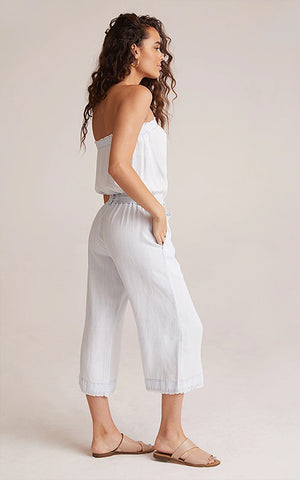 Strapless Crop Jumpsuit Bella Dahl