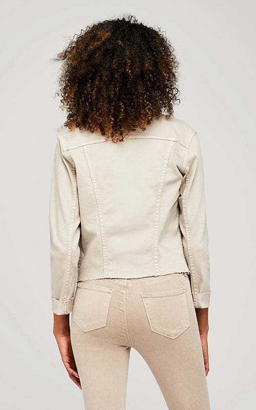 L'Agence Janelle Slim Raw Jacket