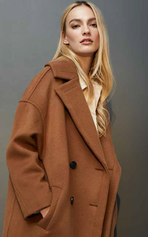 Maxine Double Breasted Coat Line