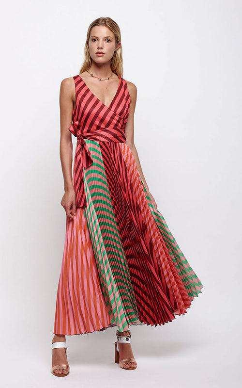 Multi Strap Maxi Dress Sfizio