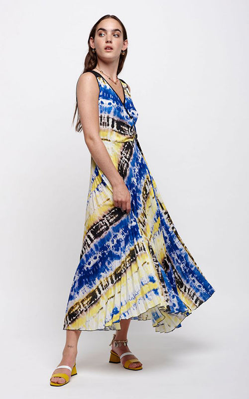 Tie Dye Maxi Dress  Sfizio