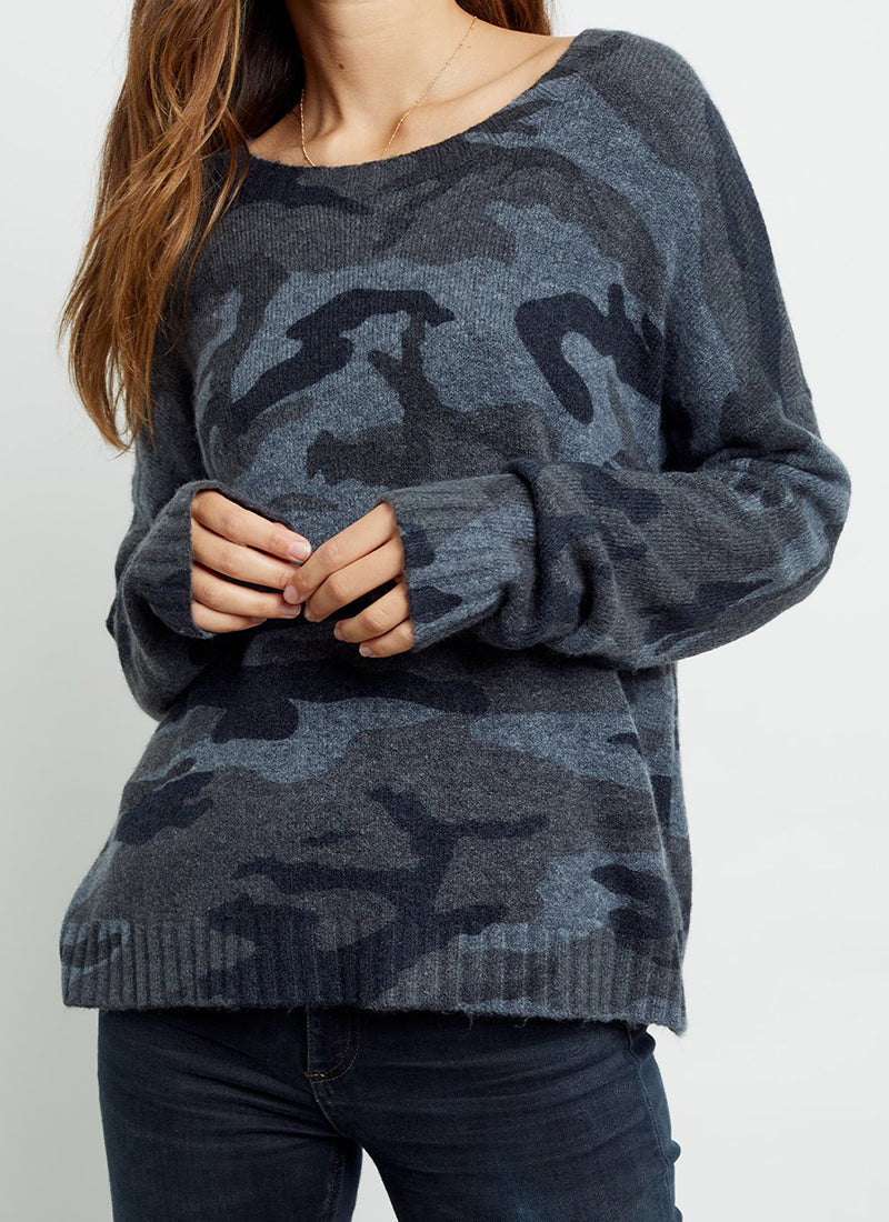 Rails Louie Camo Crewneck