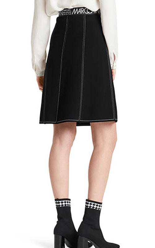 Contrast Stitching Skirt Marc Cain