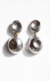 Michelle Ross Formed Circle Drop Earring