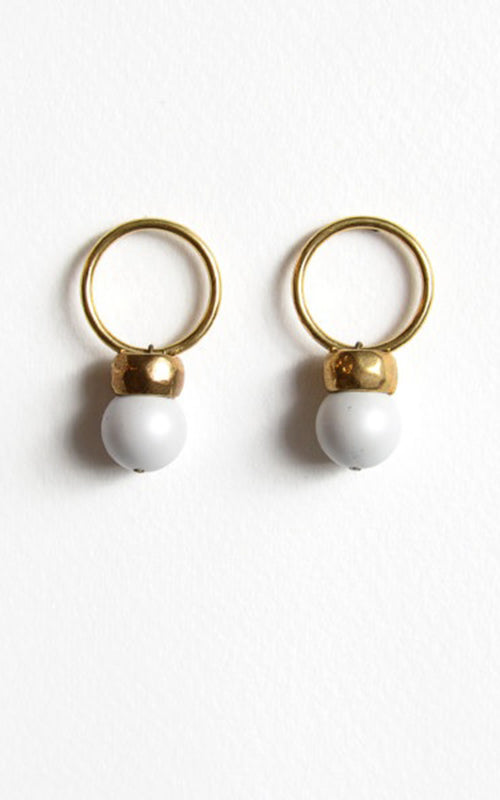 Michelle Ross Loop Drop Earring