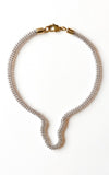 Michelle Ross Molded Chain Necklace