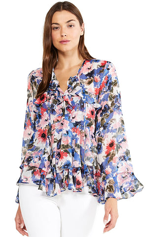 Misa Damaris Floral Top