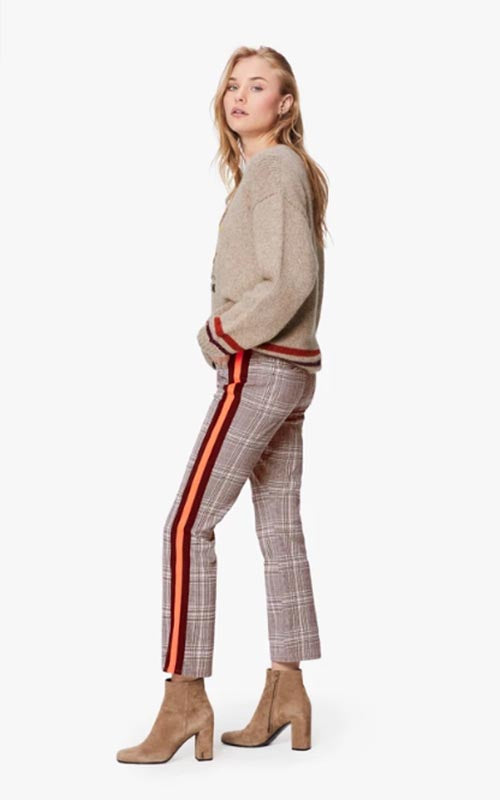 Plaid Insider Ankle Pant Mother