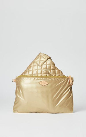 Metallic Gold Medium Metro Tote MZ Wallace