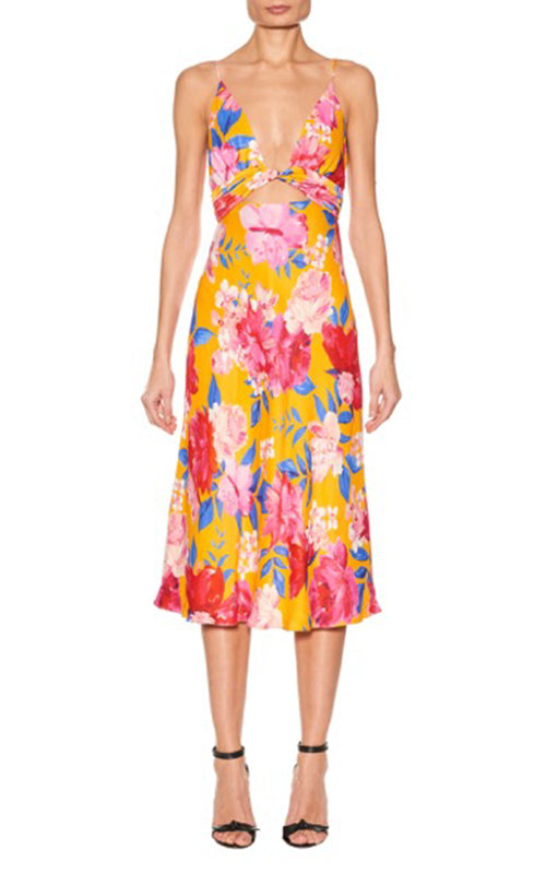 Anika Floral Cami Dress Ronny Kobo