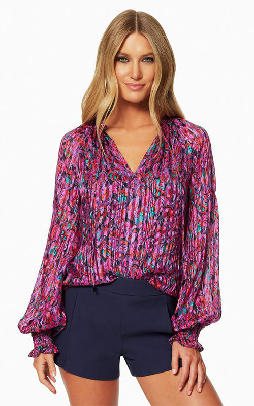 Printed Luanne Blouse Ramy Brook