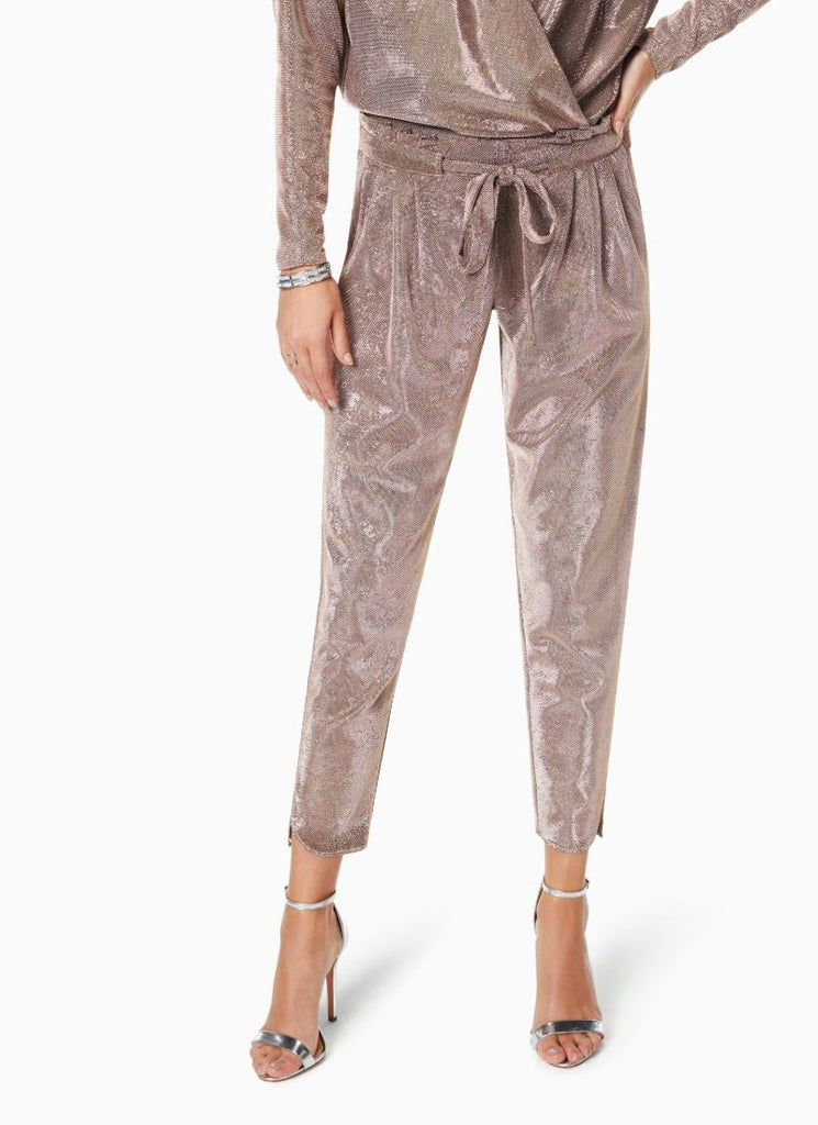 Ramy Brook Allyn Chainmail Knit Pant