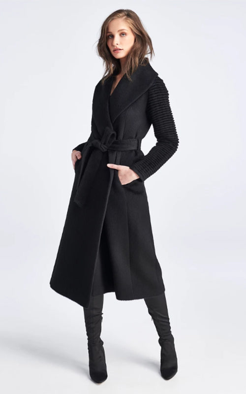 Long Shawl Wrap Coat Sentaler