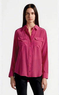 Slim Signature Pink Shirt Equipment