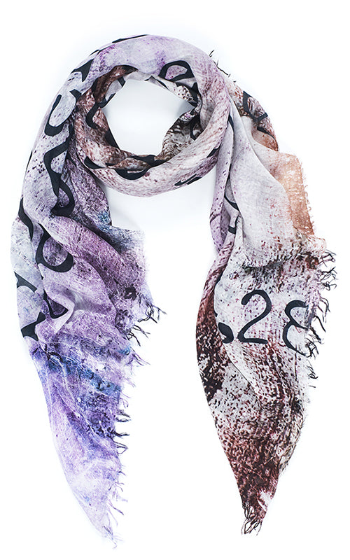 Love Index - Blush Scarf