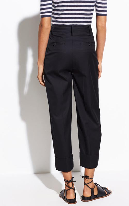 Cuffed Wide Leg Pants Vince