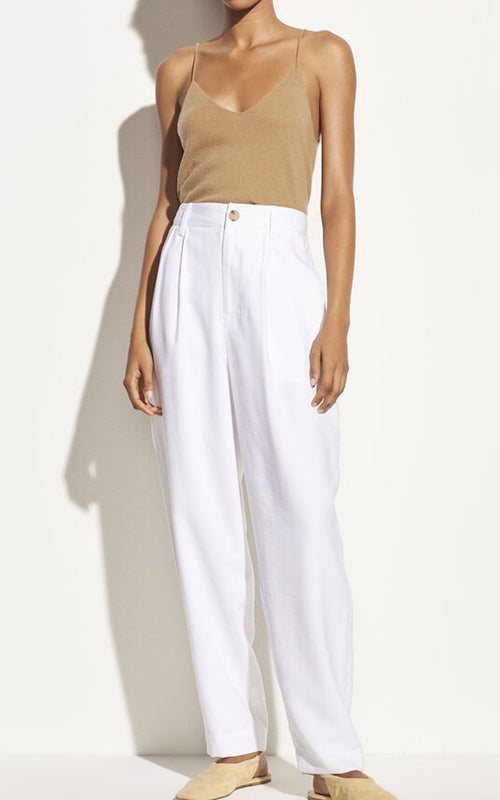 Vince Pleat Front Tapered Trouser