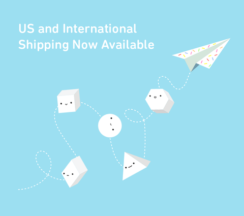 Prismland - US and International Shipping Announcement