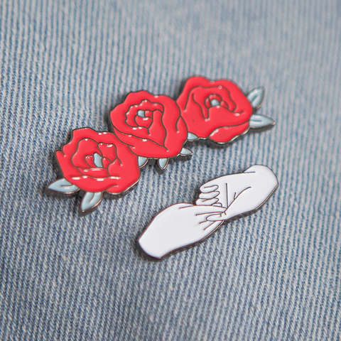Tallulah Fontaine - Truest One and Mary Rose pin set.